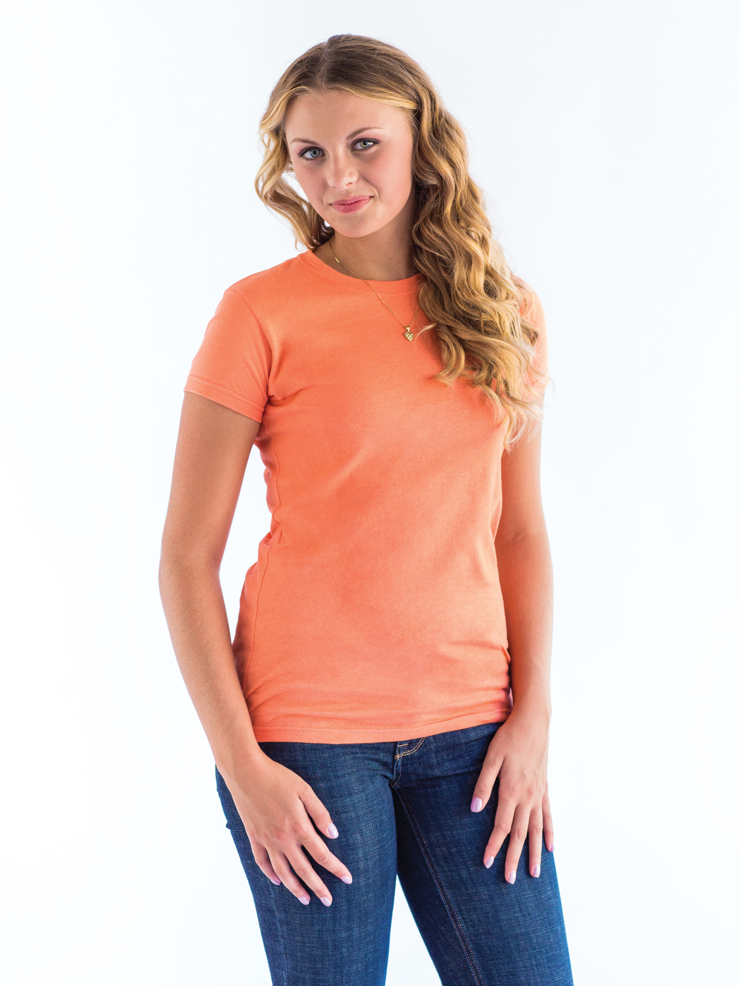 Tultex 213 Ladies' Slim Fit Fine Jersey