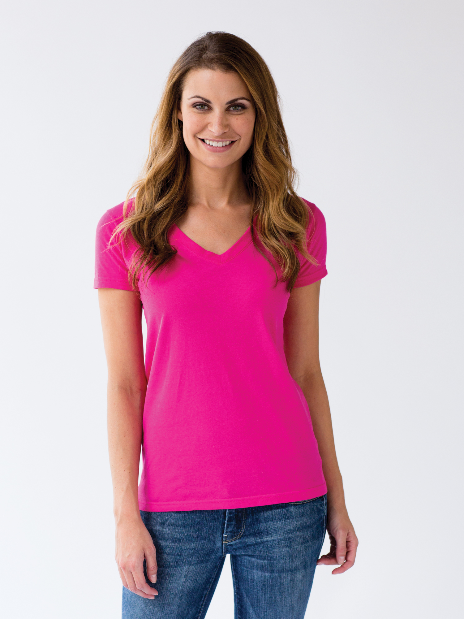 Tultex 214 Ladies' V-neck