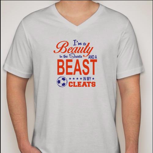 Beauty Beast Cleats